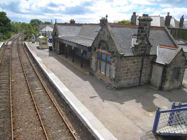 Brora Station - geograph.org.uk - 871697