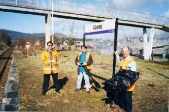 Alness Station Clean Up