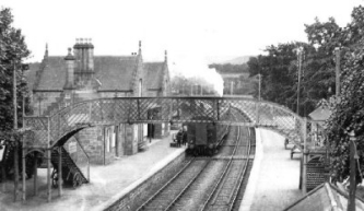 Beauly Stationin the 1930s