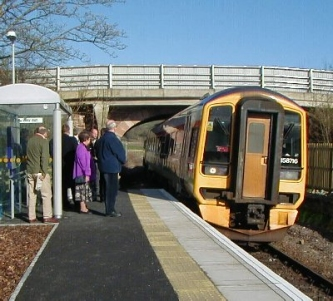 Beauly Station Re-opening