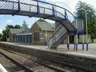 Tain Improvements - Footbridge